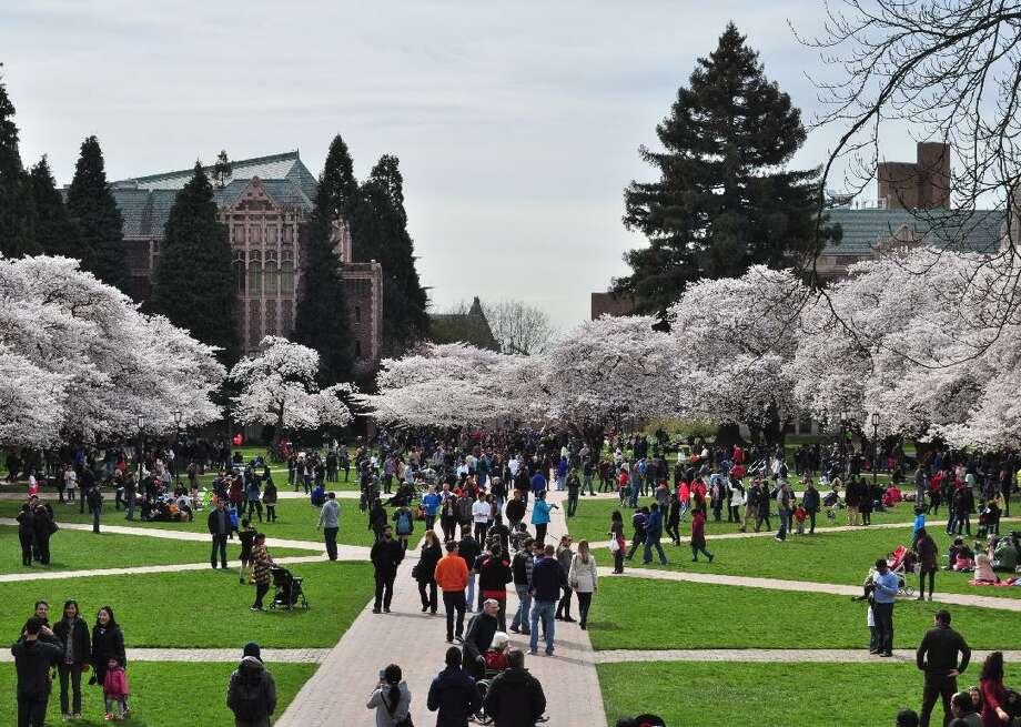 File photo of the University of Washington. Photo: Joe Mabel // Wikimedia Commons