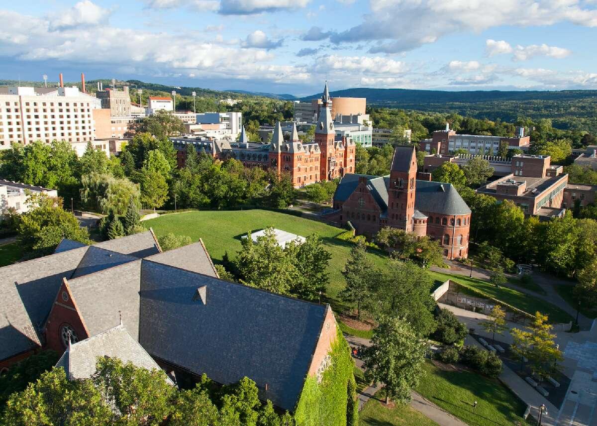 20. Cornell University Where: Ithaca, New York SAT range: 1390-1550 Acceptance rate: 13 percent Net price (per year): $31,449