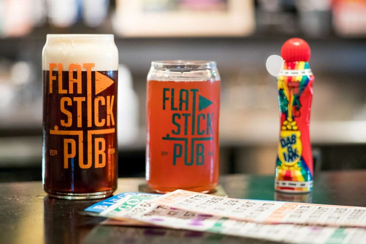 Flatstick PubMon-Fri 3-6 p.m.; American ($1.50 off beer, wine, and cider)