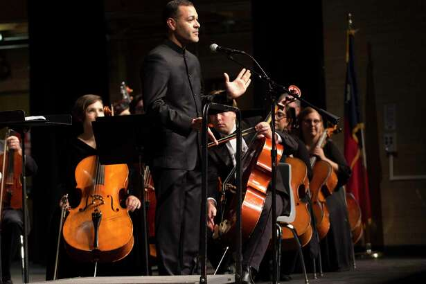 The Conroe Symphony Orchestra season opener in fall 2019. The all-volunteer Conroe Symphony Orchestra had to forego its April and June concerts and plans for the fall remain up in the air.