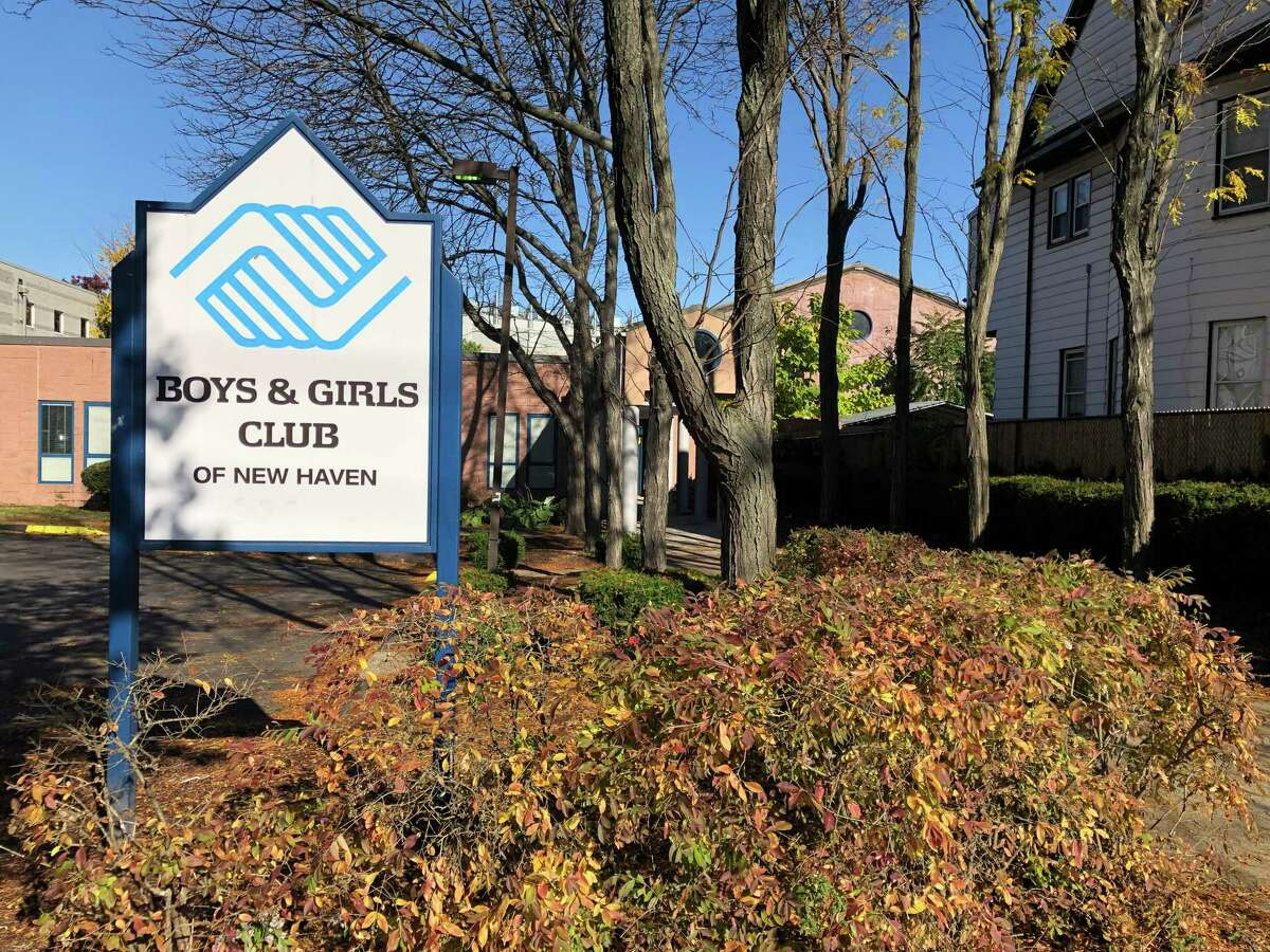 The Boys & Girls Club of New Haven on Columbus Avenue.