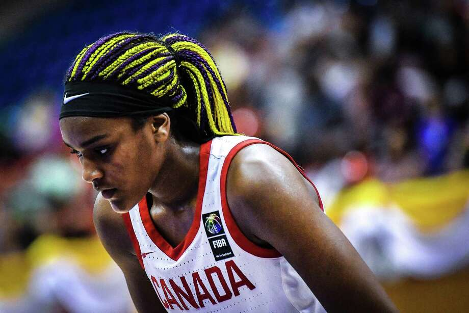 UConn recruit Aaliyah Edwards Photo: Canada Basketball