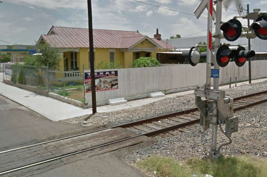 The man who was fatally struck by a Kansas City Southern train did not respond to any of the train or crossing warnings, a KCS spokesperson said in a statement. Photo: Google Maps/Street View
