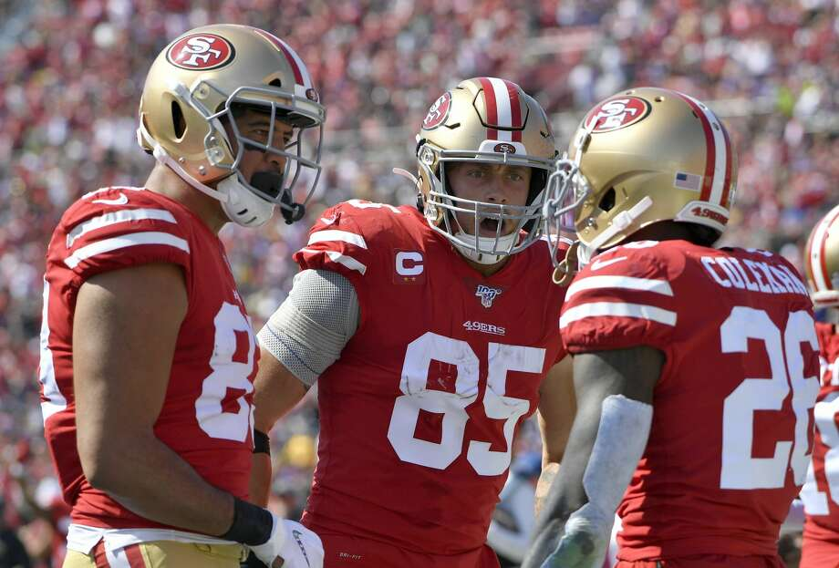 Tickets for San Francisco 49ers home games are 12 percent higher on average than this time last season. Photo: Getty Images / 2019 John McCoy