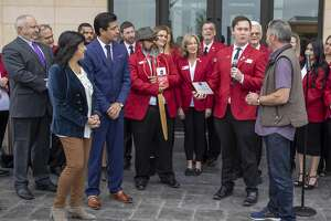The Odessa Marriott Hotel and Convention Center opened Thursday, Oct. 24, 2019 in downtown Odessa.