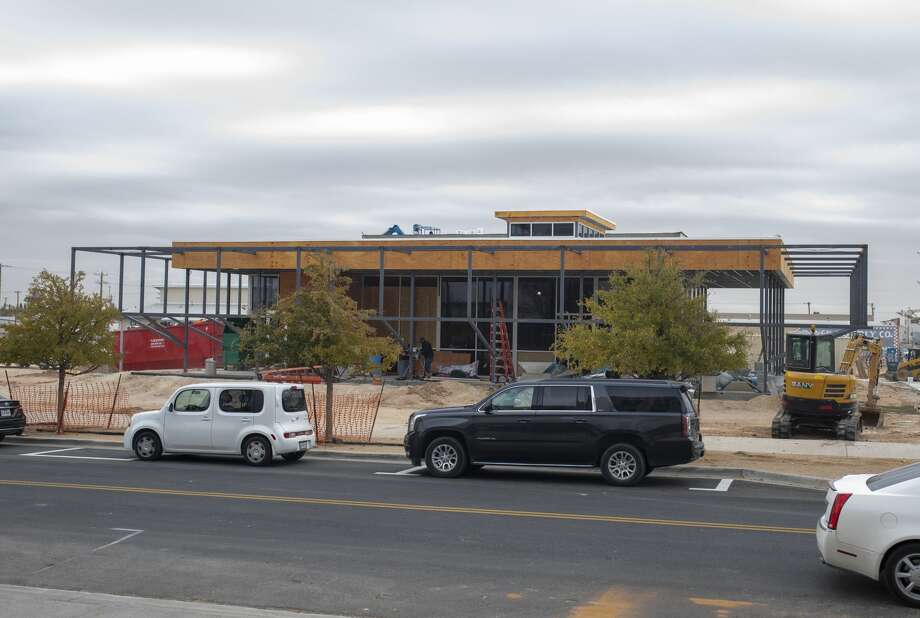 Torchy's Tacos, across from the Odessa Marriott Hotel and Convention Center, under construction Thursday, Oct. 24, 2019 in downtown Odessa. Photo: Jacy Lewis/Reporter-Telegram