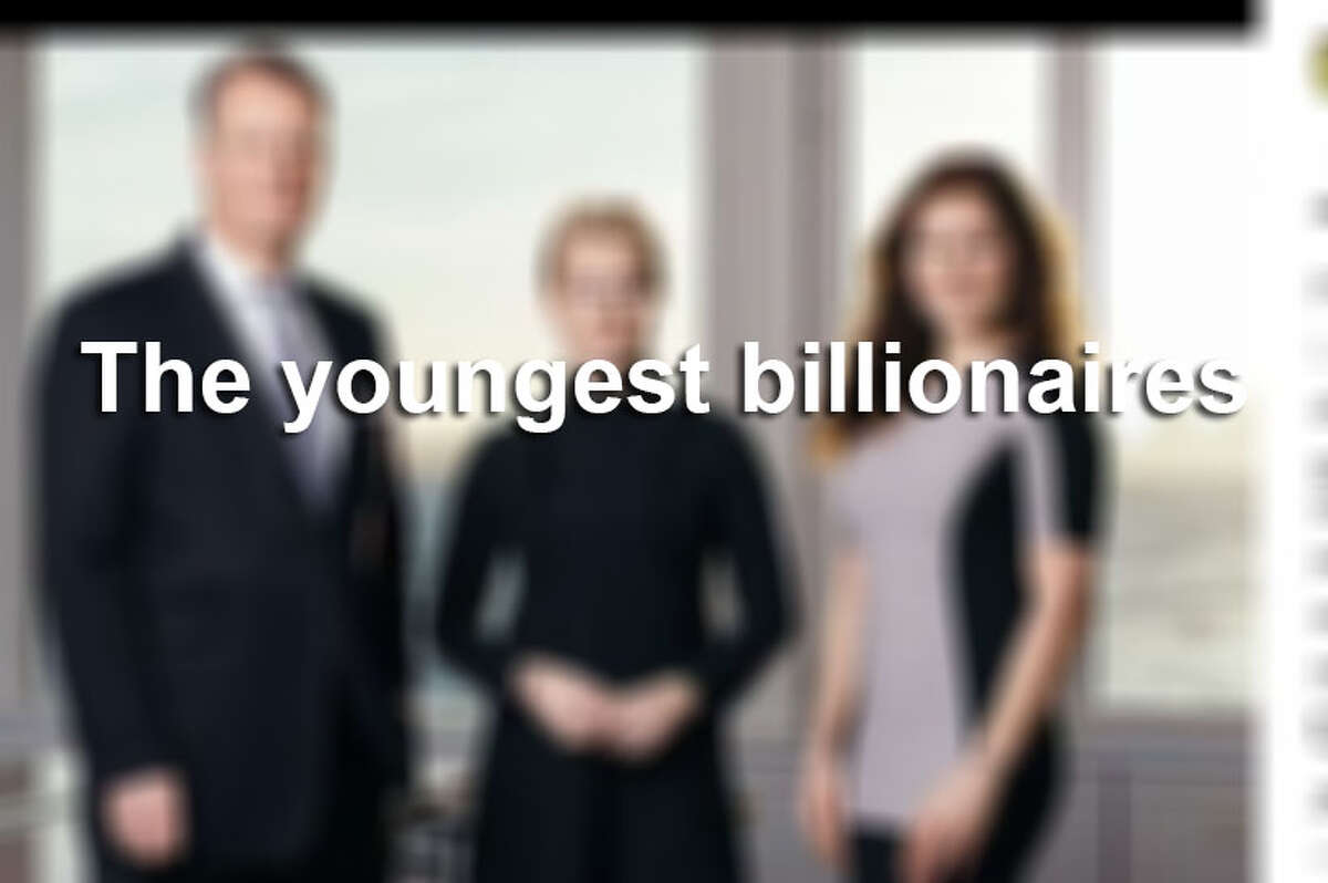 The youngest billionaires of 2017.