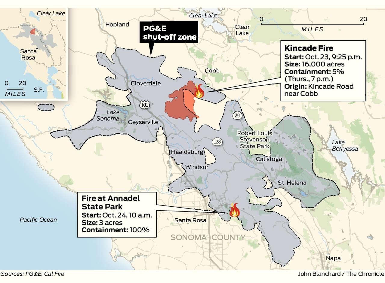 Kincade Fire: Crews gain 5% containment as focus turns to ... on idaho california map, fish camp california map, blue canyon california map, north lake tahoe california map, northern california map, fresno california map, long island california map, st. helena california map, sonoma coast california map, casmalia california map, carlotta california map, santa rita hills california map, diamond springs california map, kelseyville california map, green river california map, deep creek hot springs california map, downtown napa california map, park city california map, california california map, city of san francisco california map,