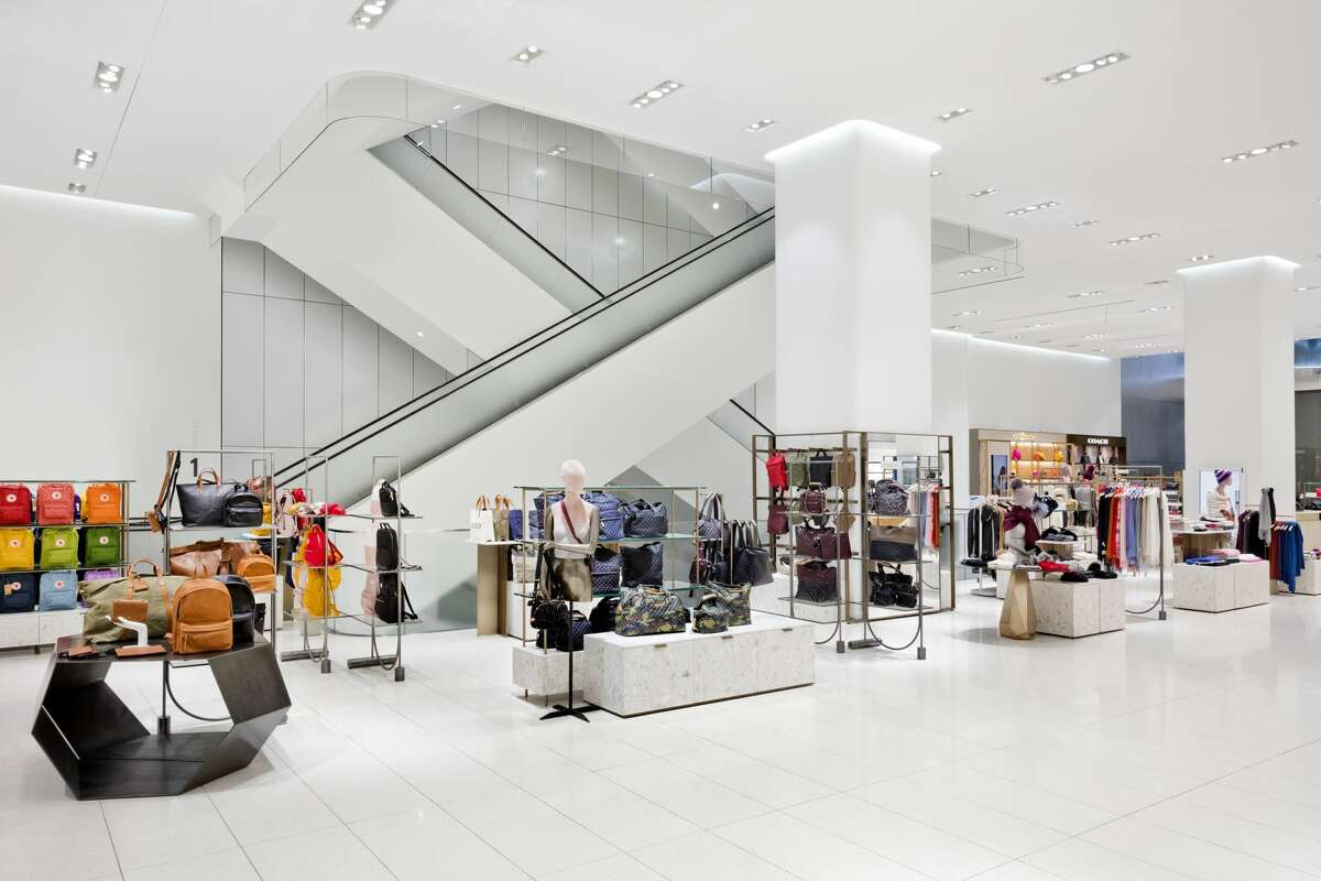 A peek inside the new Nordstrom flagship store in New York City, which opened on Oct. 24, 2019.