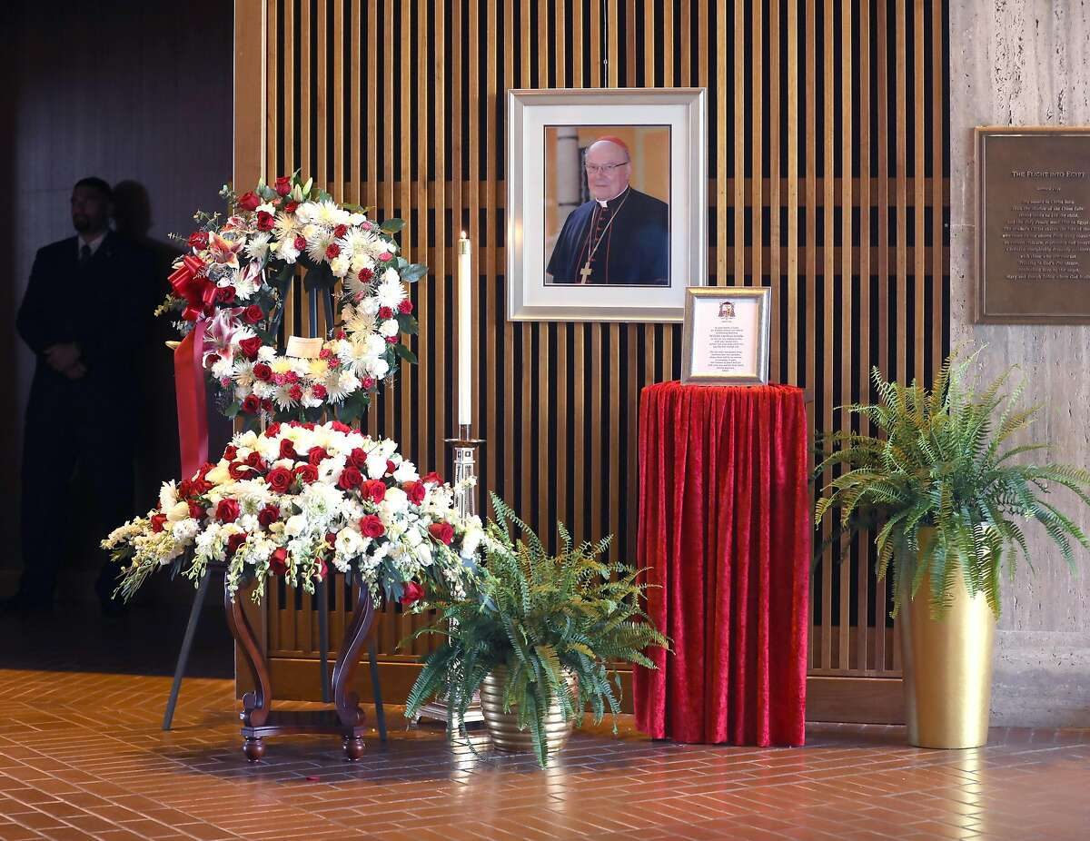Archbishop emeritus and Cardinal William Joseph Cardinal Levada was memorialized during a funeral Mass at Cathedral of Saint Mary on Thursday, Oct. 24, 2019, in San Francisco, Calif.