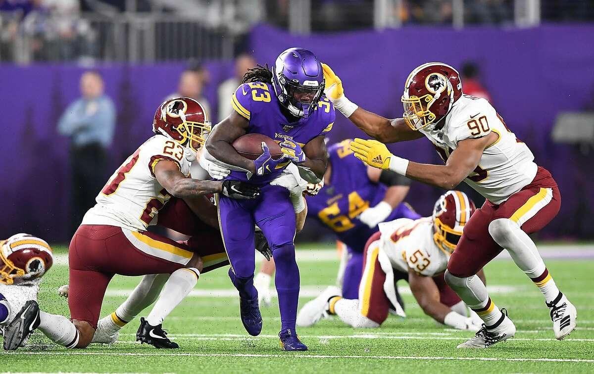 Has Raiders run defense improved? Vikings Dalvin Cook