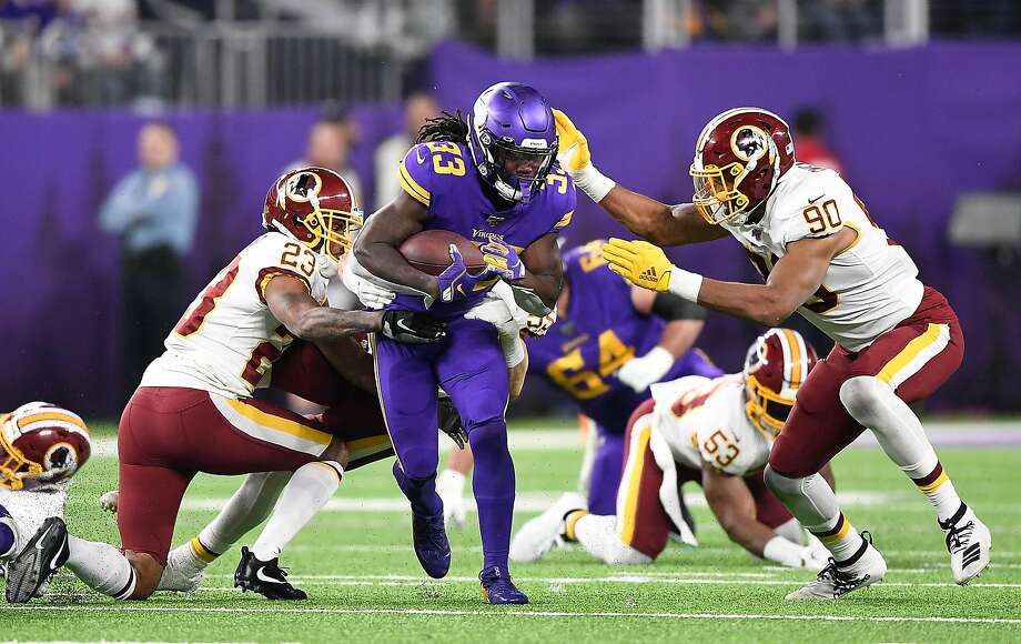 Dalvin Cook rushed 23 times for 98 yards and caught five passes for 73 yards. Photo: Hannah Foslien / Getty Images