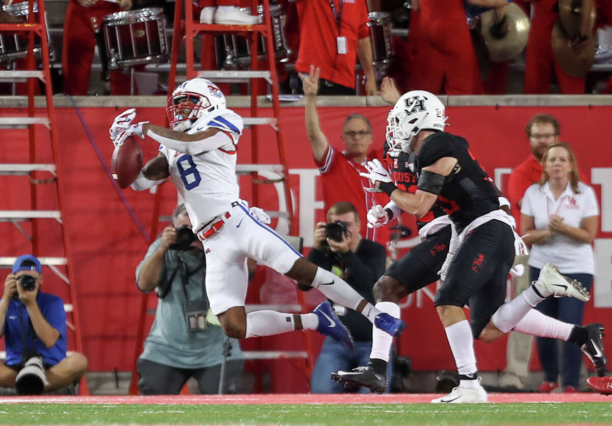 SMU has literally been unbeatable when Reggie Roberson Jr. has been in the Mustangs' lineup the past two seasons.
