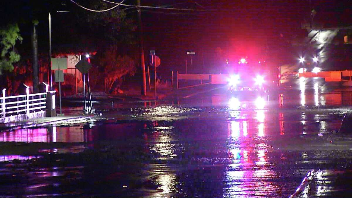 San Antonio experienced flooding Thursday night after heavy rains.