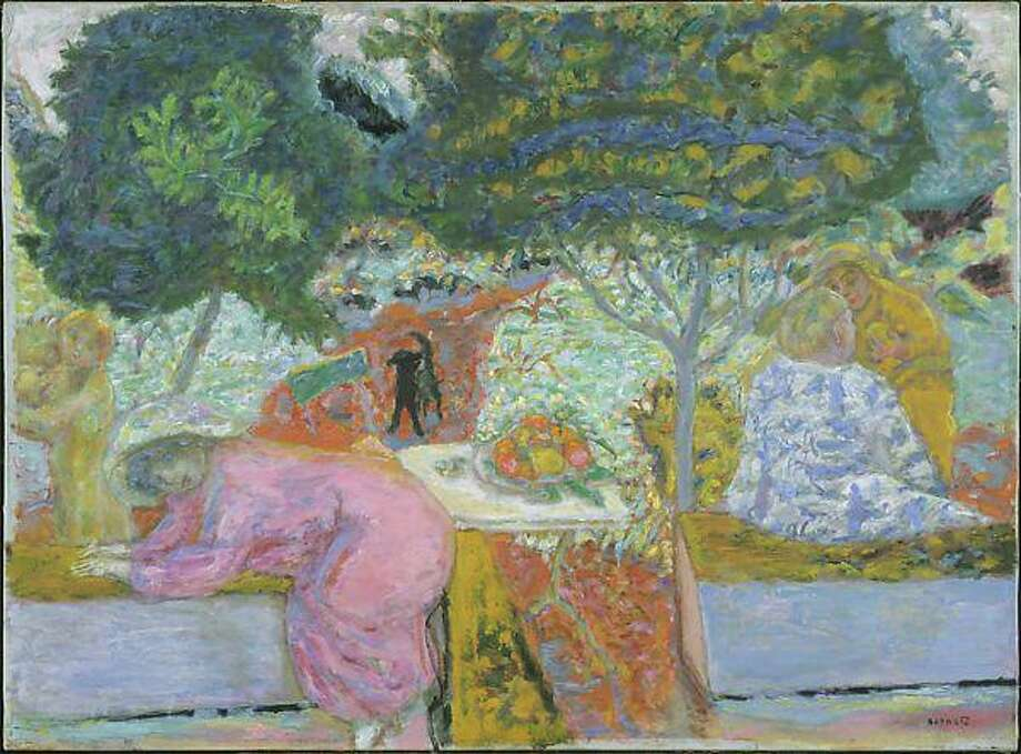 Morning in the Garden at Vernonnet, by Pierre Bonnard, 1917. Contributed photo Photo: Contributed Photo