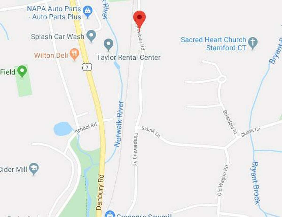 A portion of Pimpewaug Road in Wilton will be closed on Wednesday, Oct. 30, 2019.
