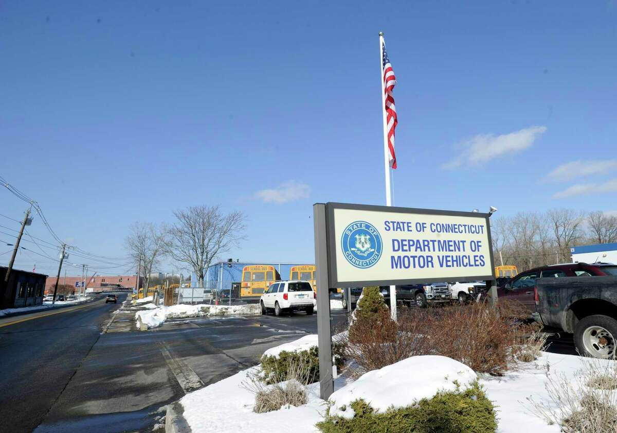 The State Department of Motor Vehicles in Danbury.