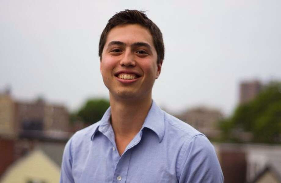 Alex Petralia, a freelance software developer from Stamford, built an online tool that scrapes DMV wait time data. Photo: Submitted