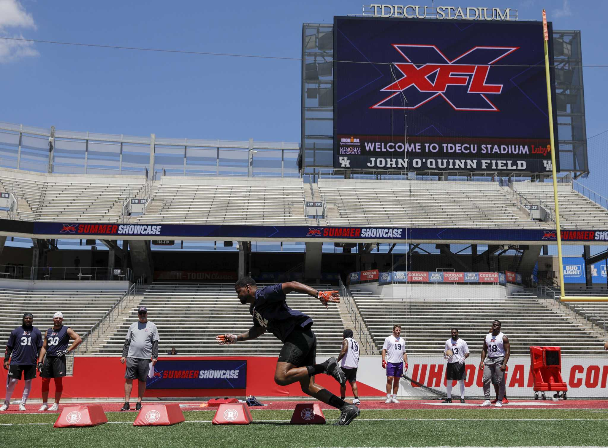 All eight XFL teams to train in Houston