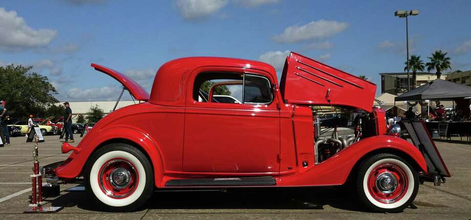 This 1935 Chevy hot rod was built by Billy and Britt Glines. Photo: Jeff Yip / Jeff Yip