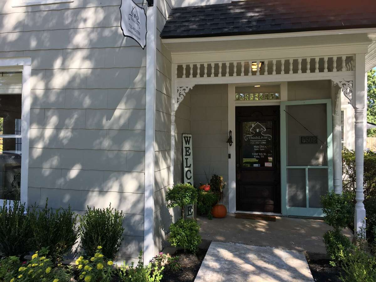ThisIsLivin, a design and remodeling company, now is the occupant of the historic Morrison-Freeman Home in Katy. Jodi Gauthier, real estate specialist and founder of ThisIsLivin Properties, and her husband Bryant Gauthier remodeled the home which had fallen into disrepair.
