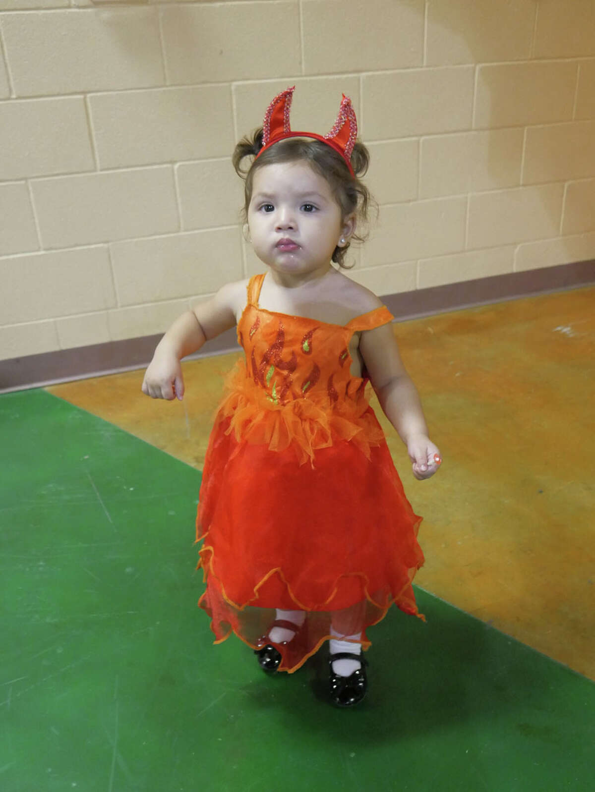 Families came out to the Eden Recreation Center as the City of Laredo hosted a haunted house, pumpkin patch and costume contest for Laredo youths.