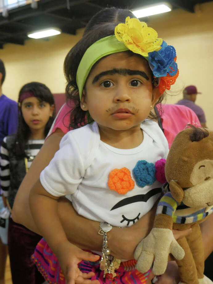 Families came out to the Eden Recreation Center as the City of Laredo hosted a haunted house, pumpkin patch and costume contest for Laredo youths. Photo: Cuate Santos/Laredo Morning Times