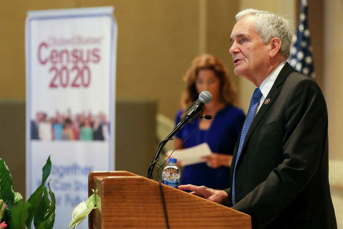 U.S. Rep. Lloyd Doggett talks about the importance of the upcoming 2020 census in the keynote speech during the U.S. Census Bureau's