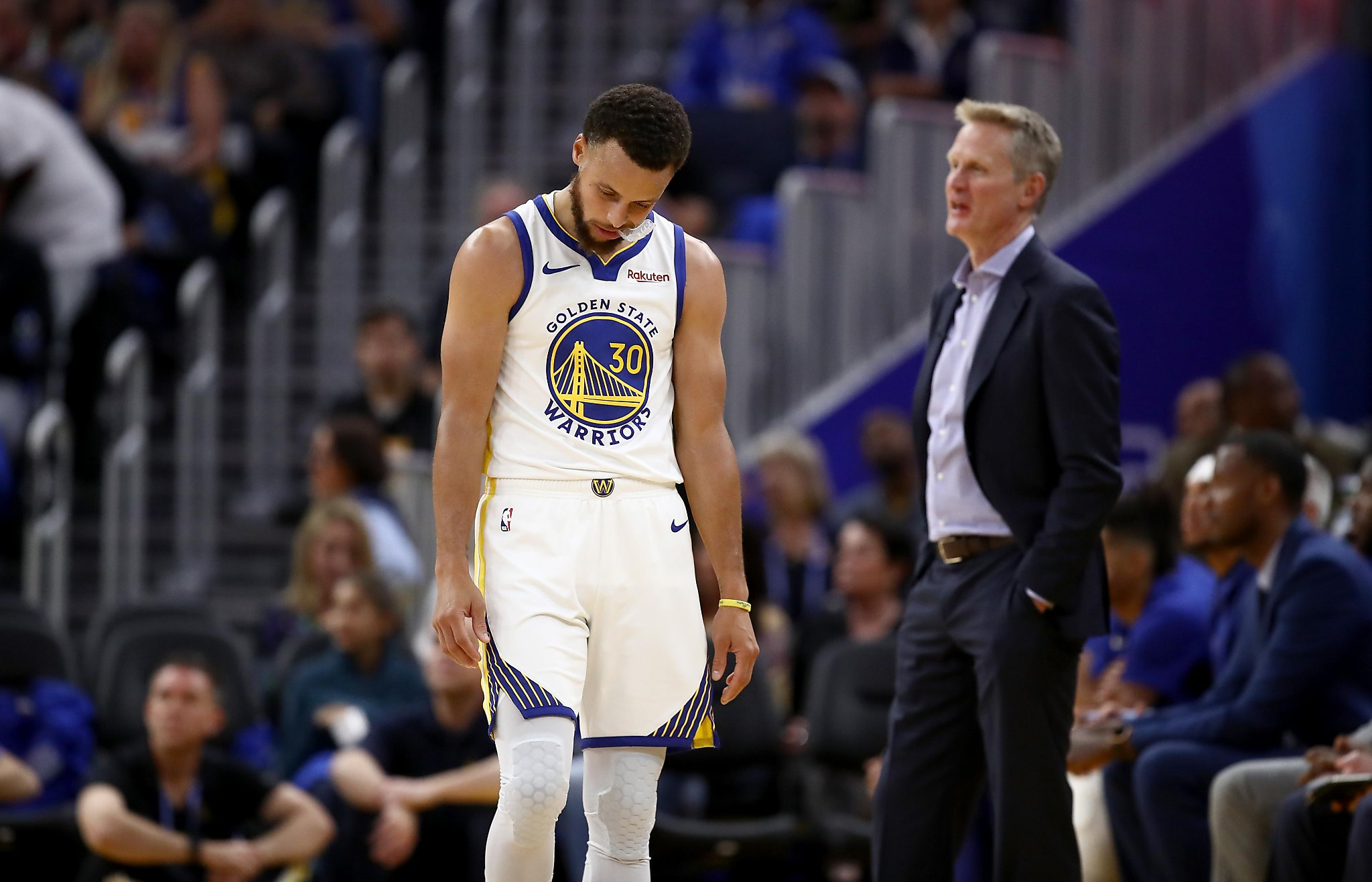 Warriors suffer brutal reported local television ratings plunge this season