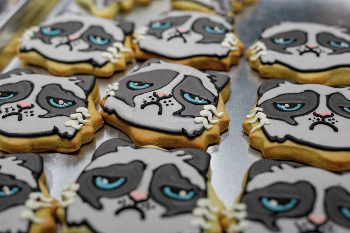 The seventh annual Depressed Cake Shop will be held Nov. 3 in Houston, a bake sale featuring grey-colored baked goods to help support depression and mental health issues. Houston bakeries and pastry chefs create grey-colored sweets for the event.