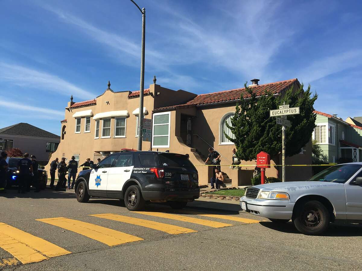 Police detained a man following a fatal shooting in a home across the street from Lowell High School in San Francisco.