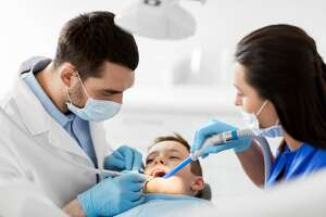 A certificate for dental assistants can be completed in about a year. They work under the supervision of a qualified dentist to provide patient care, take X-rays, do record keeping and schedule appointments.