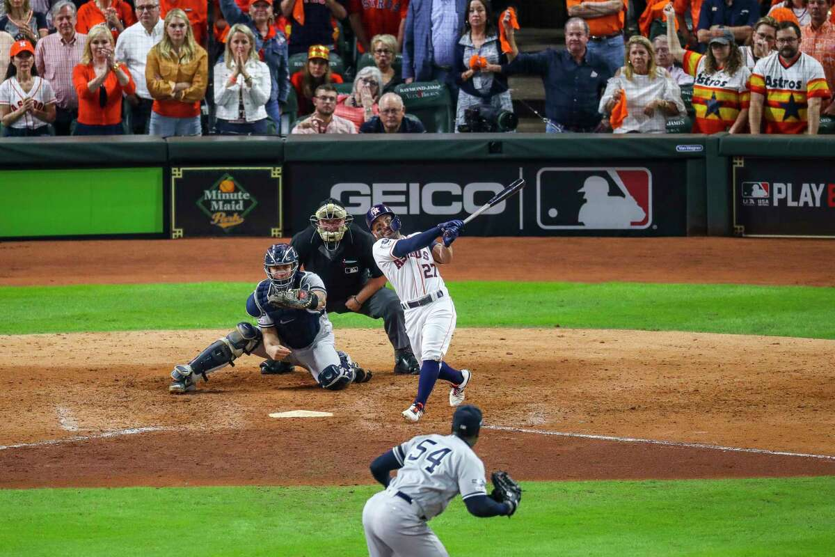 The 2019 Astros-Yankees ALCS that ended on Jose Altuve's walkoff homer in Game 6 is among the three playoff series that AT&T SportsNet Southwest will reair in June while the baseball season remains shut down.