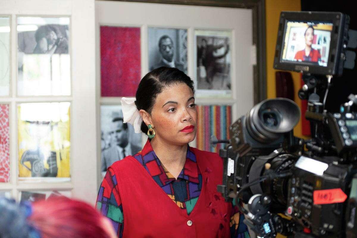 Renee L. van Nifterik, shown in a project she filmed in Austin, directs
