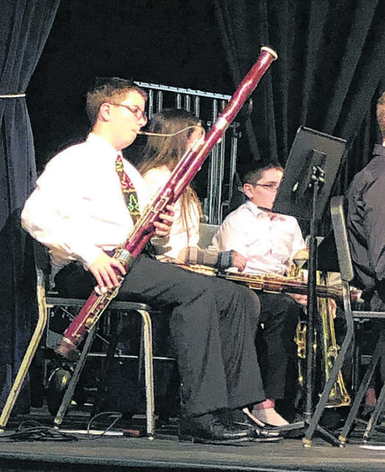 Never seen anyone play a bassoon? Come to 'The Waiting Place' concert on Nov. 3 to see one for yourself. Photo: For The Intelligencer