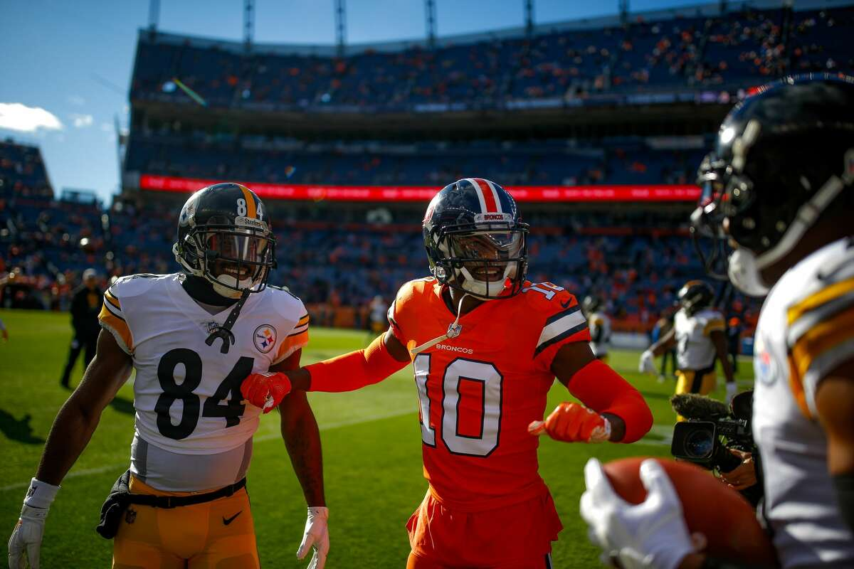 ... But Brown and Sanders turned on each other earlier this yearSanders was one of the many people Brown disparaged on social media in 2019, an impressive list that includes Ben Roethlisberger, JuJu Smith Schuster, Robert Kraft, the Carr brothers and Baker Mayfield. In January, Sanders discussed Brown's feud with the Steelers, leading Brown to call him a
