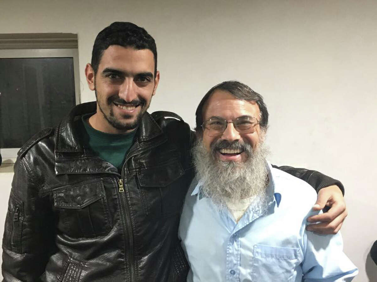 Rabbi Hanan Schlesinger,and his Palestinian friend, Shadi Abu Awwad will be speaking at a Capital Region synagogue and a mosque in November. They began hosting dinners, gatherings and meetings between West Bank Jewish settlers and Palestinians. Their group is called Roots/Shorashim/Judur or the word