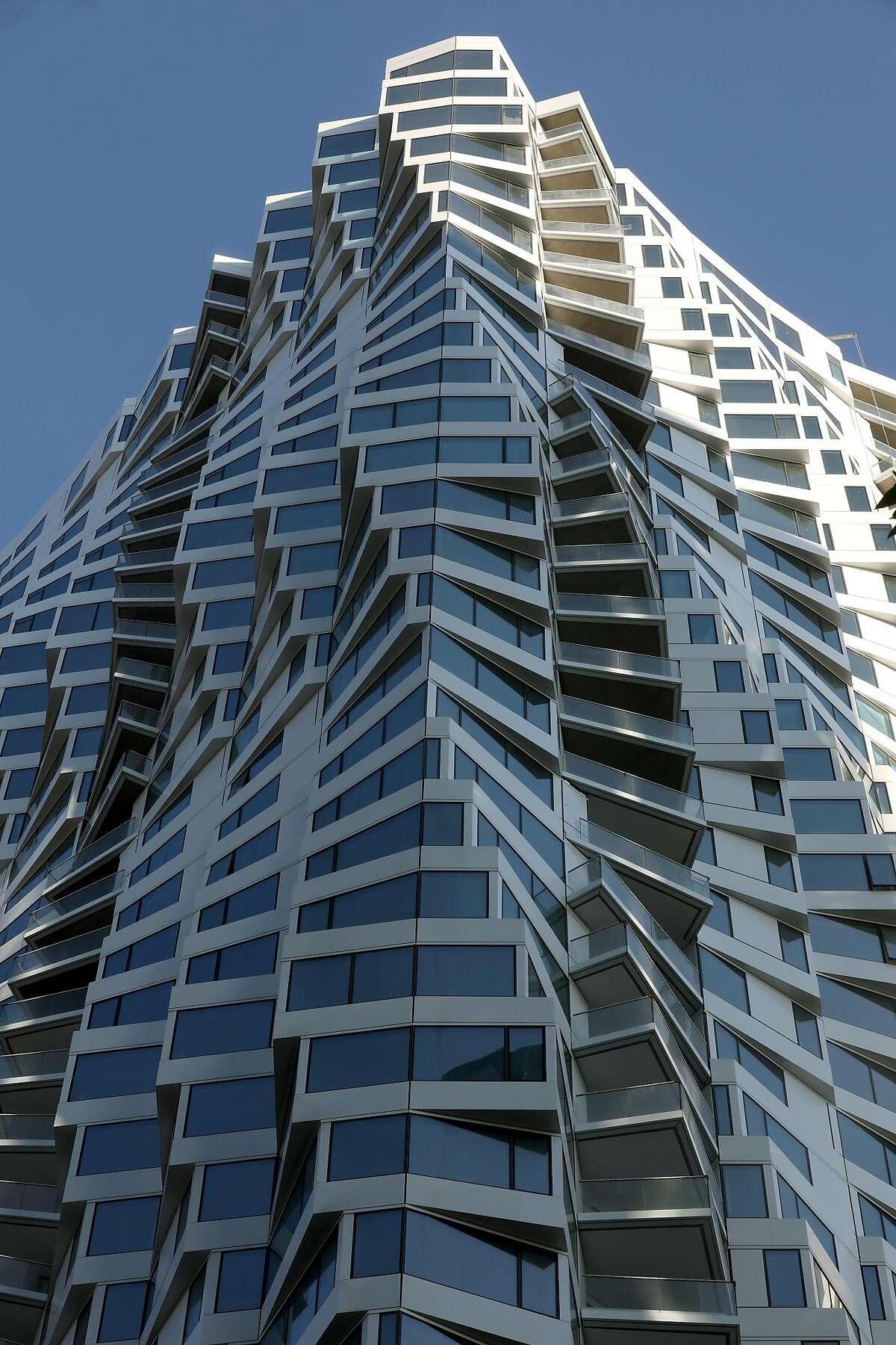 Mira condo tower at 160 Folsom St. seen on Friday, Oct. 25, 2019, in San Francisco, Calif.