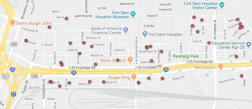 78208: 65 Visit the Texas Department of Public Safety's sex offender site to do a detailed search of your neighborhood.