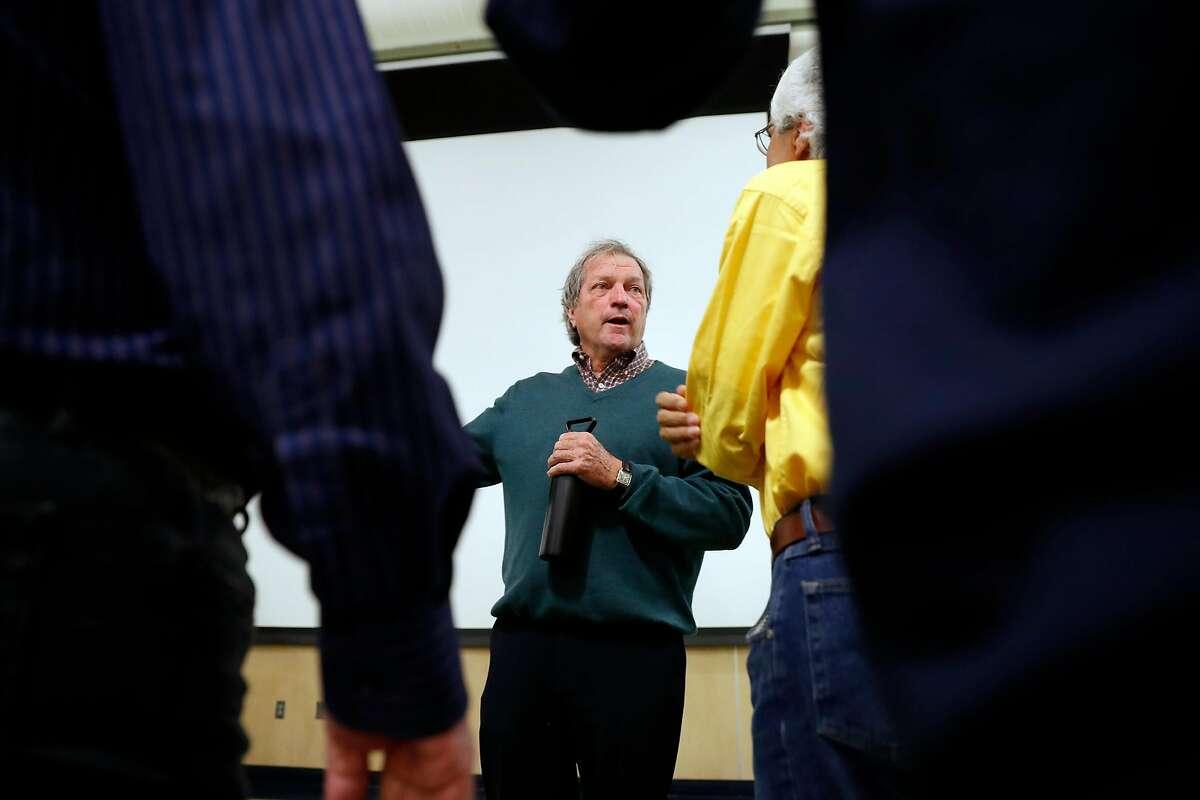 Congressman Mark DeSaulnier holds a town hall meeting at De Anza High School in Richmond, Calif., on Thursday, October 3, 2019.