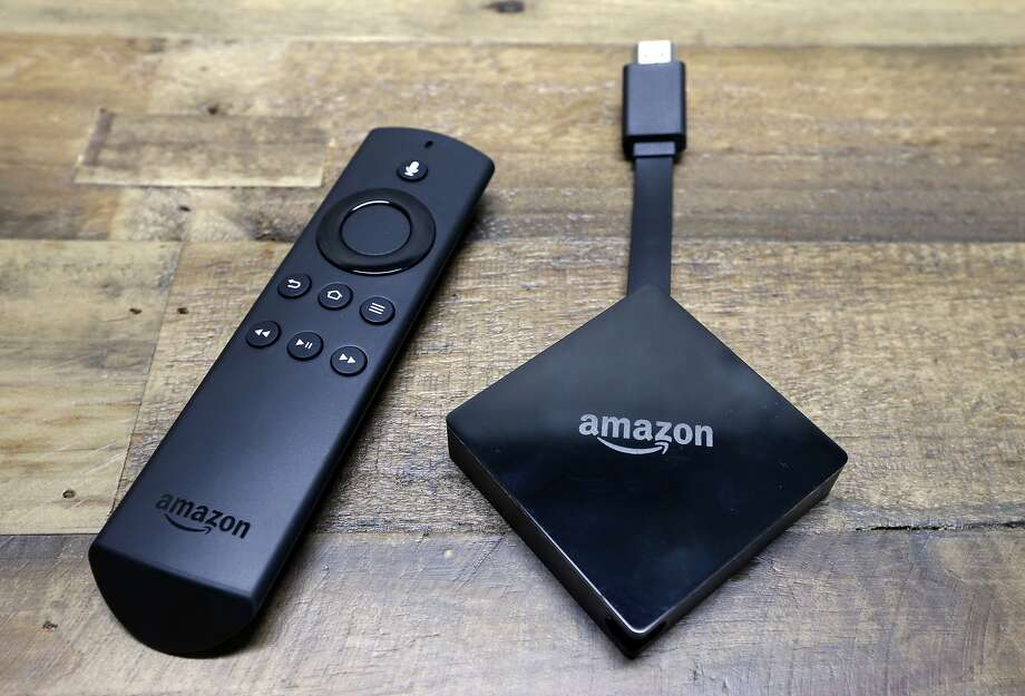 The Amazon Fire TV streaming device and others like it are able to track the viewing habits of users. Photo: Elaine Thompson / Associated Press 2017