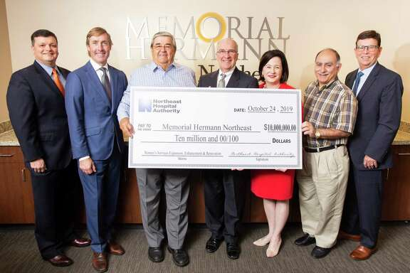 The Memorial Hermann Foundation received a $10 million donation from the Northeast Hospital Authority Board for women's services renovation and expansion at the Memorial Hermann Northeast location.