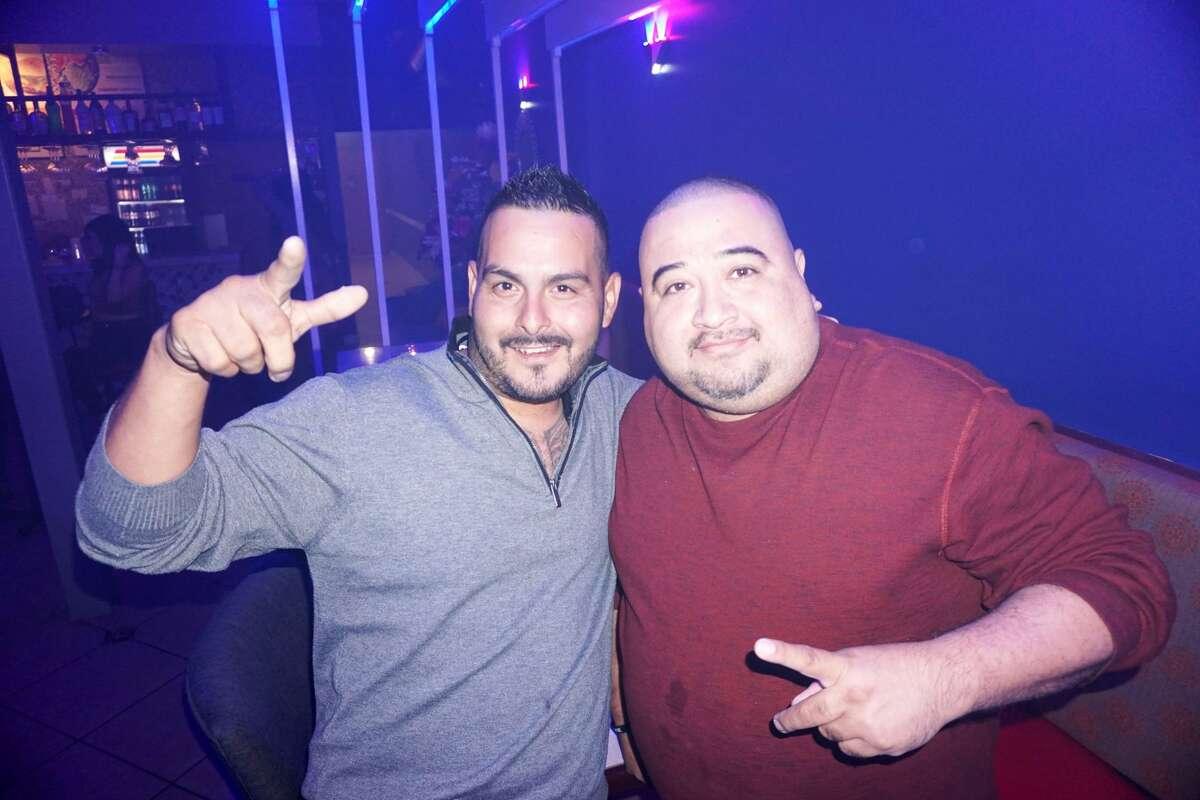 Edgar Serna and Nelson Rios at Ka' Lounge