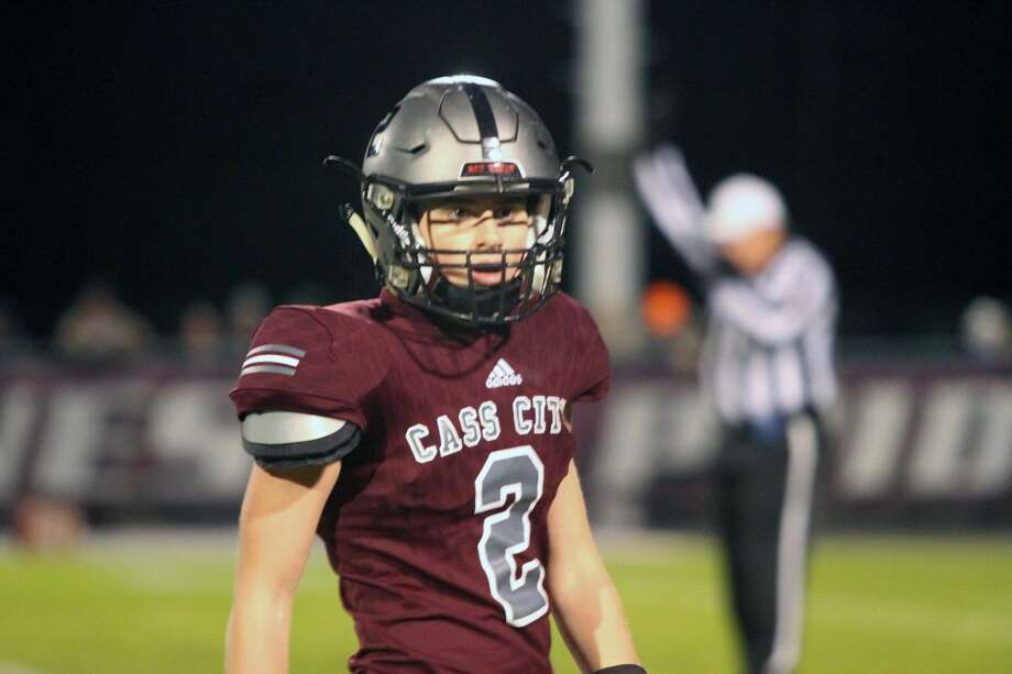 The Cass City Red Hawks will host Sandusky in the opening round of the MHSAA playoffs at 7 p.m. on Friday, Nov. 1. Photo: Eric Rutter / Huron Daily Tribune