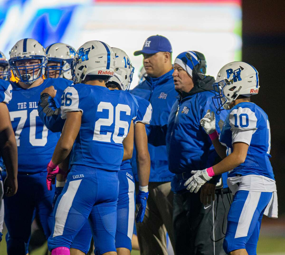 PHOTOS: The highest-paid high school football coaches in the area Barbers Hill High School football coach Tom Westerberg has his team in the high school playoffs, beginning this week. He's also one of the most well-paid coaches in the area. Browse through the photos above for a look at the highest-paid high school football coaches in the area ...
