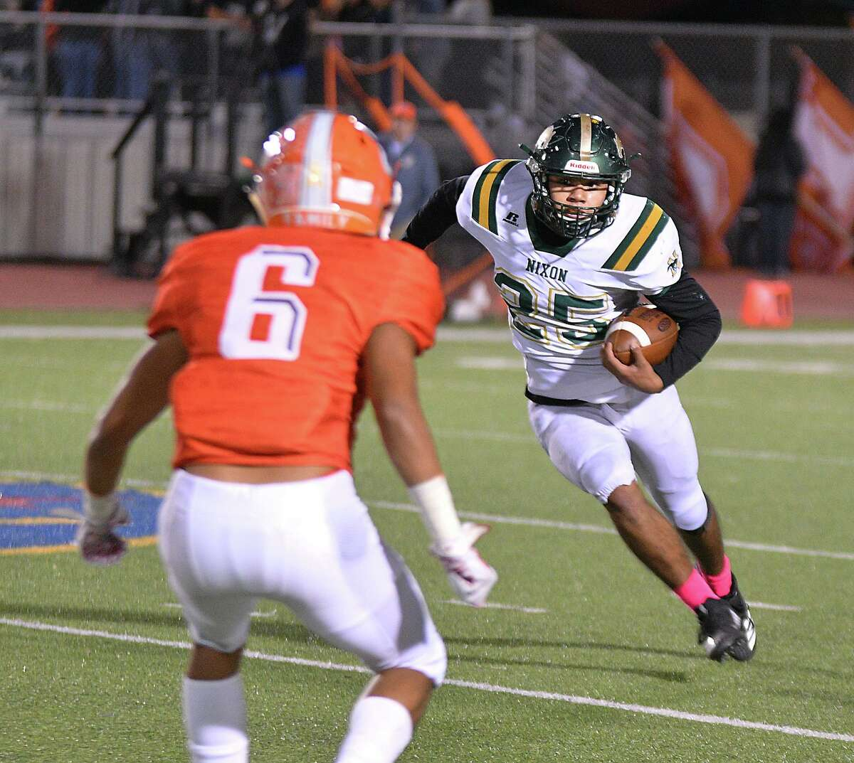 Pablo Tovar ran for 102 yards in Nixon's 45-14 loss to United on Friday.