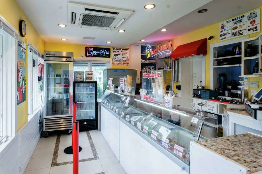 Gofer Ice Cream has reopened its seasonal satellite location after a fire damaged its other shop in Greenwich. Photo: Contributed /