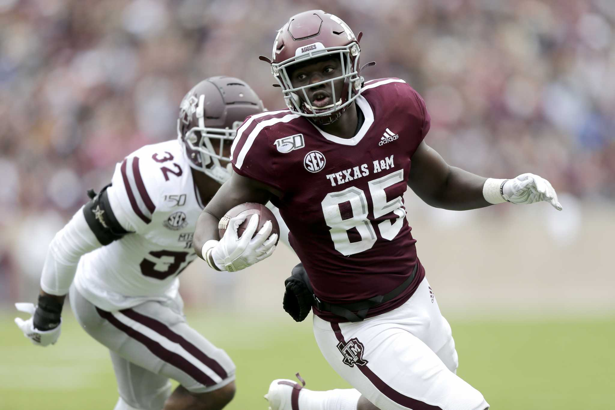 2020 Texas A M Football Status Report Tight Ends Houstonchronicle Com