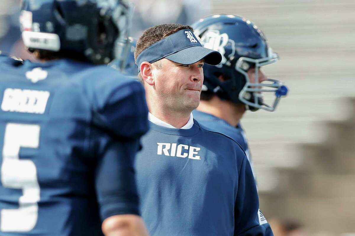 Moral victories will no longer do for third-year Rice coach Mike Bloomgren.