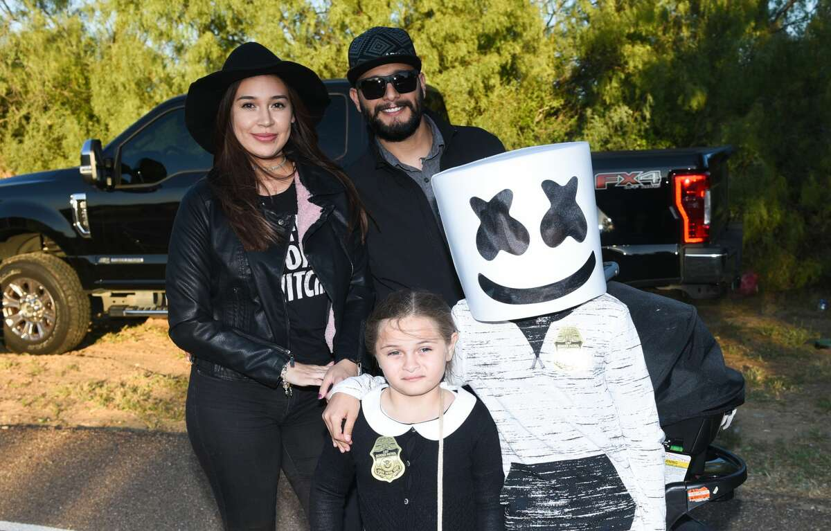 Families fill North Central Park sporting their Halloween costumes during the Constable Harold Devally Halloween Fun Fest.